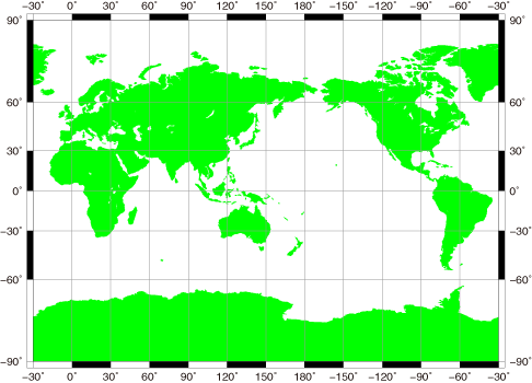Millar Cylindrical Projection